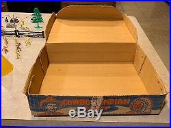 Marx Cowboy And Indian Camp Play Set Box#3949