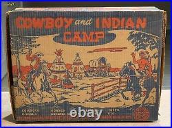 Marx Cowboy And Indian Camp Set Box#6148