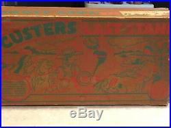Marx Custers Last Stand Play Set Series 500/S Box#4779