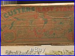 Marx Custers Last Stand Series 500 Box#4779