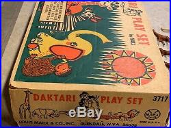 Marx Daktari Jungle Play Set Box#3717