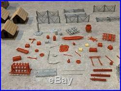 Marx Daktari Jungle Play Set Box#3720