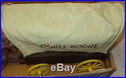 Marx Daniel Boone Frontier Large Box Complete Vintage 1965 Plastic Playset 1393