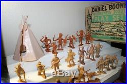 Marx Daniel Boone Wilderness Playset BIN
