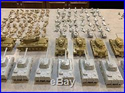 Marx Desert Fox Battleground Play Set Box#4178MO