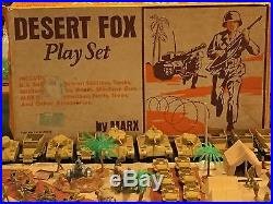 Marx Desert Fox Play Set Box#4178MO