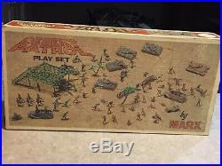 Marx Desert Patrol Play Set Box#4174
