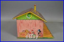 Marx Disney Train Station Hand Painted Prototype Building