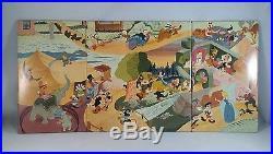 Marx Disneykin Television Playhouse Playset Plus Figures Sold Separately (1953)
