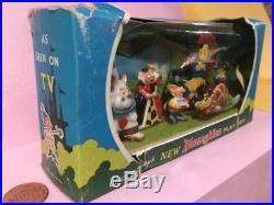 Marx Disneykins Play Set Disney Alice in Wonderland plastic character figures