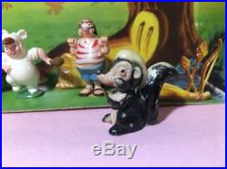 Marx Disneykins Play Set Peter Pan character plastic figures Disney Neverland