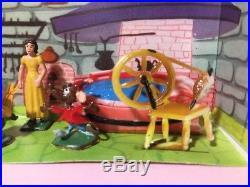 Marx Disneykins Playset Disney Cinderella plastic character figures Wendy Fairy