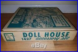 Marx Doll House Accessory Playset BRAND NEW STAPLED SHUT EXTREMELY RARE