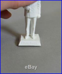 Marx Double RARE Louis Marx with Cigar down, 60mm square base (EXCELLENT)