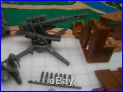 Marx European Battleground Play Set