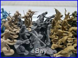 Marx European Battleground Playset Soldier Mold Sets Brit, Russian, French, More