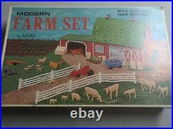 Marx Farm Playset Marx #3931 Sealed Never Opened 100% Mint