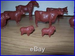 Marx Farm Prize Livestock In Rare Flat Brown Color