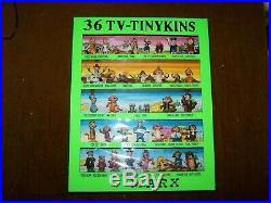 Marx Figures Tinykins Disneykins Hanna-Barbera Television Cartoon Collectibles