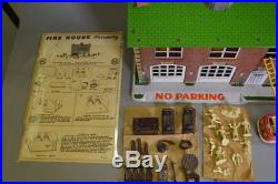 Marx Fire House Playset in Box, Take a LOOK