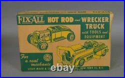 Marx Fix- All Cities Service Hot Rod and Wrecker Truck in Box