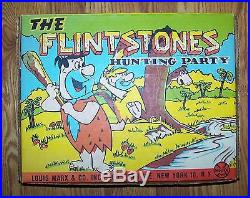 Marx Flintstones Hunting Party COMPLETE! , great shape