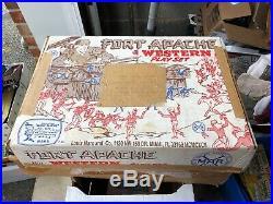 Marx Fort Apache Scarce 4501 Original NIB + Invoice