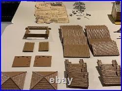 Marx Fort Apache Stockade Play Set Box#3604