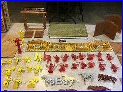 Marx Fort Apache Stockade Play Set Series 2000 Box#3660