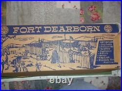 Marx Fort Dearborn Playset