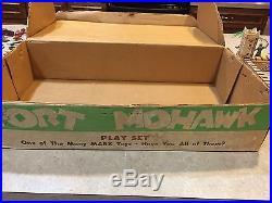 Marx Fort Mohawk Play Set Series 500/S Box#3751