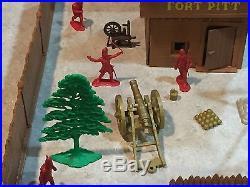 Marx Fort Pitt Play Set No Box