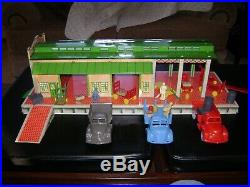 Marx Freight Station Playset From 1952
