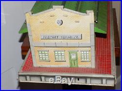 Marx Freight Terminal Tin Playset