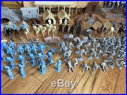Marx Giant Battle Of The Blue & Gray Play Set 1961 No. 4764 Original Box Bags