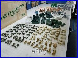 Marx Giant Battleground 4781 Rare Huge Filled Set Many Items In This Rare Set