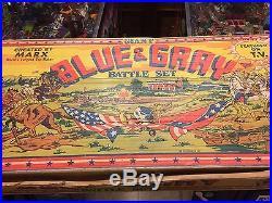 Marx Giant Blue & Gray Battle Set