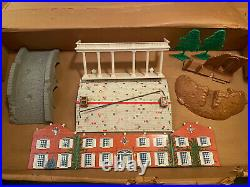 Marx Giant Blue & Gray Montgomery Wards Playset 1961