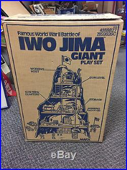Marx Giant Iwo Jima Playset