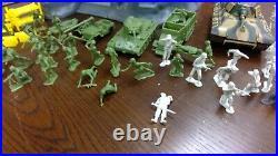 Marx Guns of Navarone vintage playset with soldiers tanks more