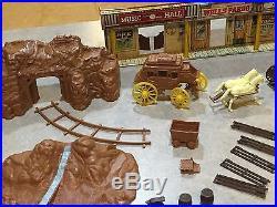 Marx Gunsmoke Dodge City Play Set Series 2000 Box#4268