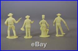 Marx Gunsmoke Playset Character Figures Set
