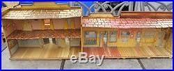 Marx HOTEL SIDE Western Town tin litho Roy Rogers Mineral City edition
