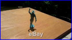 Marx HTF Original 1972 CUSTER 54mm Figure BIG HORN Playset plastic