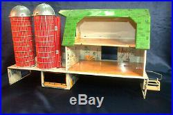 Marx Happi Time Farm Platform Barn Silos Cupolas Weather Vanes Litter Carrier