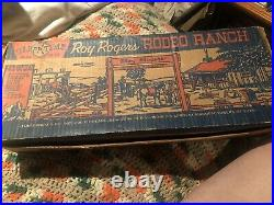 Marx Happi Time Roy Rogers Rodeo Ranch Playset