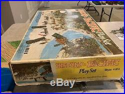 Marx History In The Pacific Play Set Box#4164