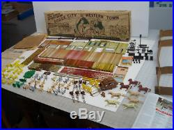 Marx Hugh Obrian Wyatt Earp Playset 4228 Series 1000 1957 Mint