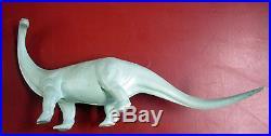 Marx Hunting Party Prehistoric Dinosaur Playset Box- Brontosaurus, Fred & Barney