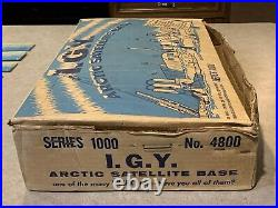 Marx I. G. Y. Arctic Satellite Base Series 1000 Box#4800